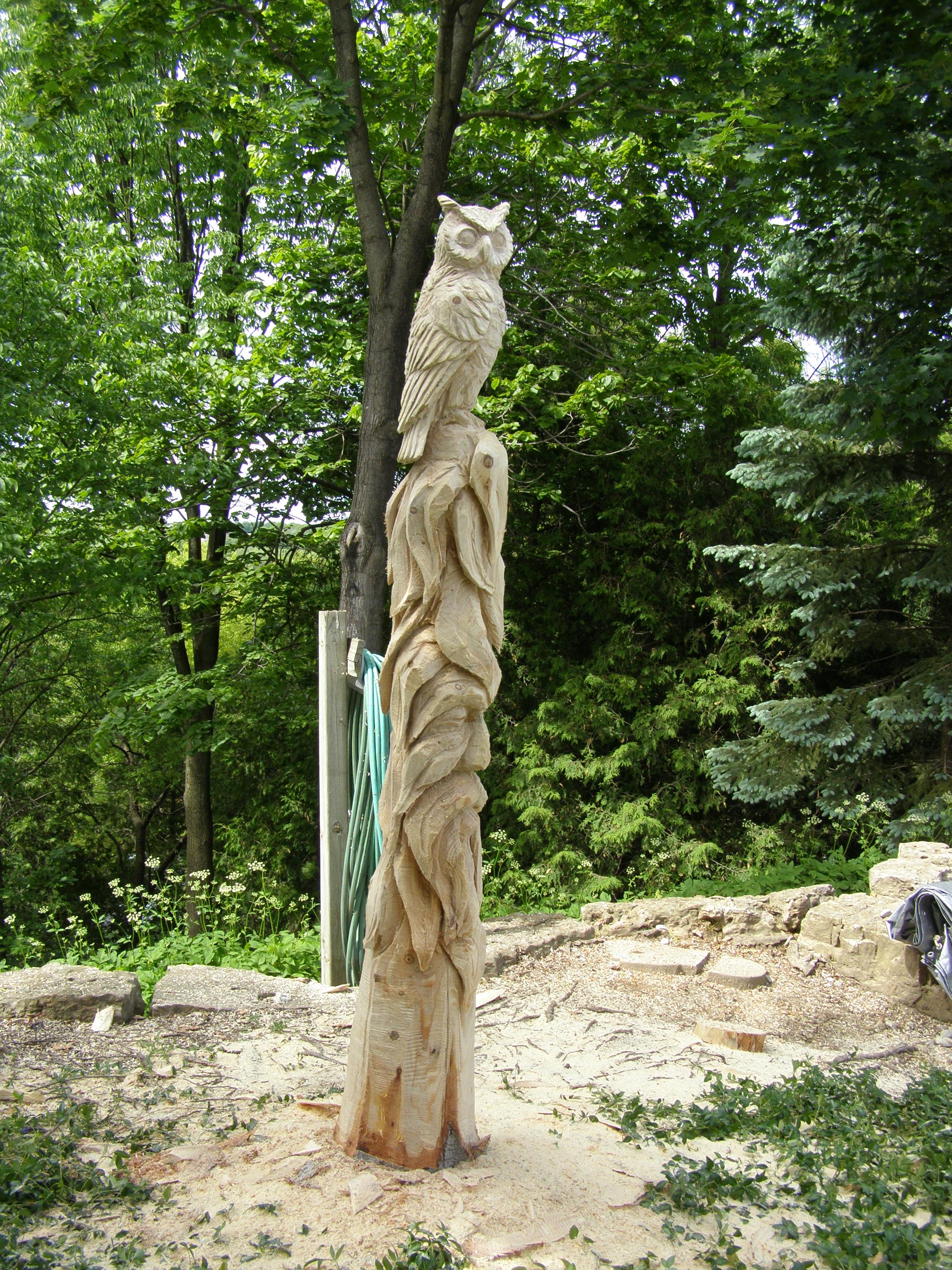 Spirit Face, Owl, Totem